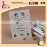 high Quality Flash Gold Temporary Metallic Tattoo