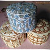 Oman hat / Muslim cap / Arabian cap  /  Muslim embroidered cap /  embroidered cap