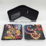 The Classic Anime Dragon Ball Z Wallet Young Men and Women Students Short Wallets Japanese Cartoon Comics Purse