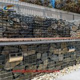 Roadway Protection Welded Small Gabion Baskets , Stainless Steel Wire Welded Rock Gabion Baskets