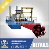 cutter suction dredger and new condition low price sand mining machine