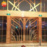 Jyf0048 Interior Stainless Steel Metal Curtain Living Room Partition Design Wall Carving 304 Stainless Steel Wall Partitions