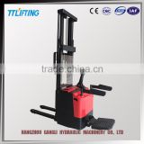 new model Power Steering System electric walkie stacker