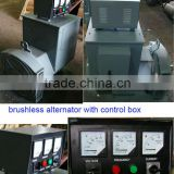 single-phase three-phase single bearing double bearing A.C. synchronous brushless alternator generator