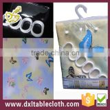 Polyester hookless showr curtain of butterfly
