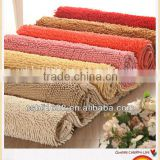 New popular professional grand plush microfiber bath mat,chenille strong absorbent