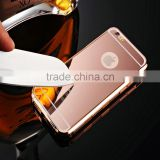 Mirror Coating Mobile Phone Tempered Glass Back Blank Cell Phone Case For Iphone 6 6S Plus                                                                         Quality Choice