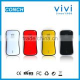 For phone and pad 5000mAh portable charger lithium polymer battery power bank without solar panel