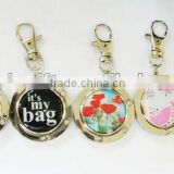 Fashion Bag Hanger With Key Chain