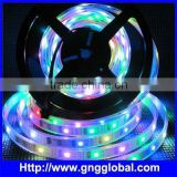 Magic Colorful Addressable Flexible led pixel LED Strip Display Screen WS2801