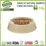 china wholesale Factory Direct Sale Bamboo Pet Feeder/Bamboo Fiber Pet Pot/Pet Dog&Cat bowl