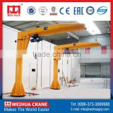 Safe Driving 5Ton Mobile Small Lifting Jib Crane Manufacturer For Room And Building Maintenance