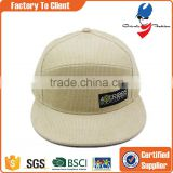 free caps corduroy blank snapback hats wholesale price customized cheap