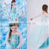 wholesale elsa cosplay costume dress
