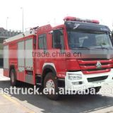 4*2 foam fire truck with 7.628 CBM