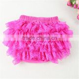 Lace Bloomers- YOU PICK COLOR - 3 sizes: Newborns, Babies & Toddlers - Lace Diaper Cover - Ruffle Bloomers - 1st Birthday Outfit