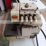 Used Second Hand Good Condition Overlock Industrial Sewing Machine SIRUBA 747