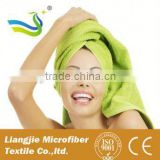 microfiber hair wrap towel drying bath spa head cap
