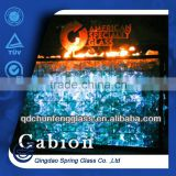 fireplaces decorative glass chunks