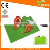 Coloful Plastic Health Classification Chopping Board 4 sets Cutting Board Delicatessen Health food Treated Separately