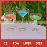 Customise promotional factory prices round led cocktail glass                                                                         Quality Choice