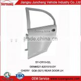 Replacement Steel Back Door For Chery QQ6 Car Auto Body Parts