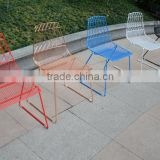 metal wire outdoor chair