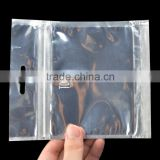 aluminum foil laminated zipper stand up pouch with custom printing