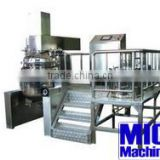 MIC- 200L cheap body lotion making machine cosemtic cream mixer body cream making machine with 200L oil and water tank with ce