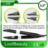 Loof beauty Hair Extension Iron, Fusion Hair Extension Connectior, Wiring Hair Connector
