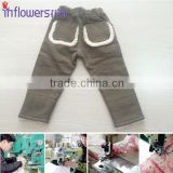 WINTER KIDS CLOTHING,WARM INSIDE FOR KIDS,CHILDREN'S 100% COTTON TROUSERS winter children trousers
