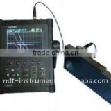 ultrasonic defectoscope 2.5-10000mm, measure mode Single, Dual, Thru, portable ultrasonic equipment for testing weld