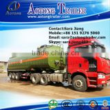 low price 3 axles 45000l petrol tanker semi trailer/liquid transport truck trailer/fuel tank semi trailer for sale