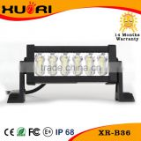 2015 new products double row 36w led light bar, 7.5 inch led light bar, 12v led strip light bar