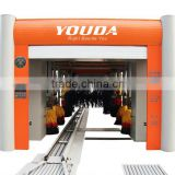 Stainless steel frame tunnel car washing machine, automatic tunnel car wash machine