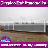 East Standard custom made prefabricated steel structure warehouse with remarkable wind load