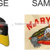 Cap Embroidery Digitizing