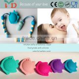 Free sample available silicone teething bracelet baby pacifiers online
