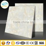 "32""x32"" White marble real natural stone vitrified glazed polished ceramic tile"