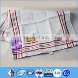 wholesale embroidery design plain white cotton waffle weave kitchen tea towels