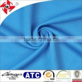 Chuangwei Textile breathable pinhole mesh 92% polyester 8% spandex elastic sportswear fabric for shorts