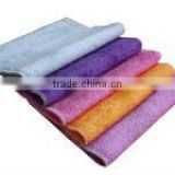 antibacterial bamboo dish towels kitchen cleaning brush scrubber