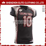 team camo customized american football jerseys
