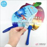 Fancy new products wholesale plastic custom printed folding hand fan