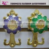 new fashion beautiful rhinestone plastic Curtain buckle