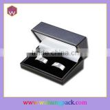 New Design Cufflink Storage Box Single Pair Paper Fashion Cufflink Box