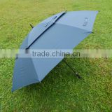 promotional green double layer golf umbrella