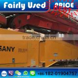 Good condition used SANY Concrete Pump Truck 48 meter Concrete Pump Truck with Isuzu chassis pump truck for sale