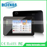 7 inch android tablet pc Allwinner A33 quad core processor, HD display 1024 x600 pixels, dual camera with flash light