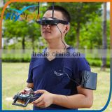 H1876 Hot Sales PIP FPV Goggles / Video Glasses Built-in Wide Angle Camera And 5.8Ghz Diversity Receiver Glasses